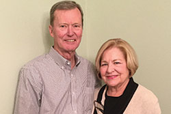 Photo of Tom and Nancy Donnelly. Link to their story.