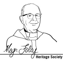 Image of The Monsignor Foley Heritage Society logo